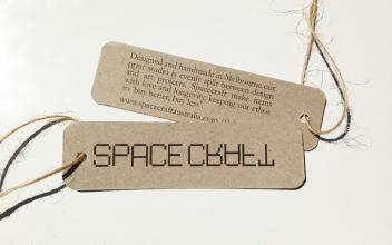 Spacecraft swing tags