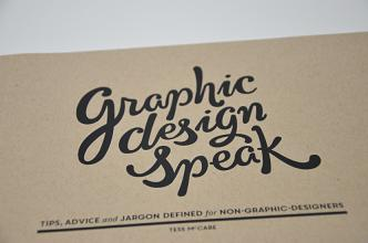 Tess McCabe - Graphic design speak
