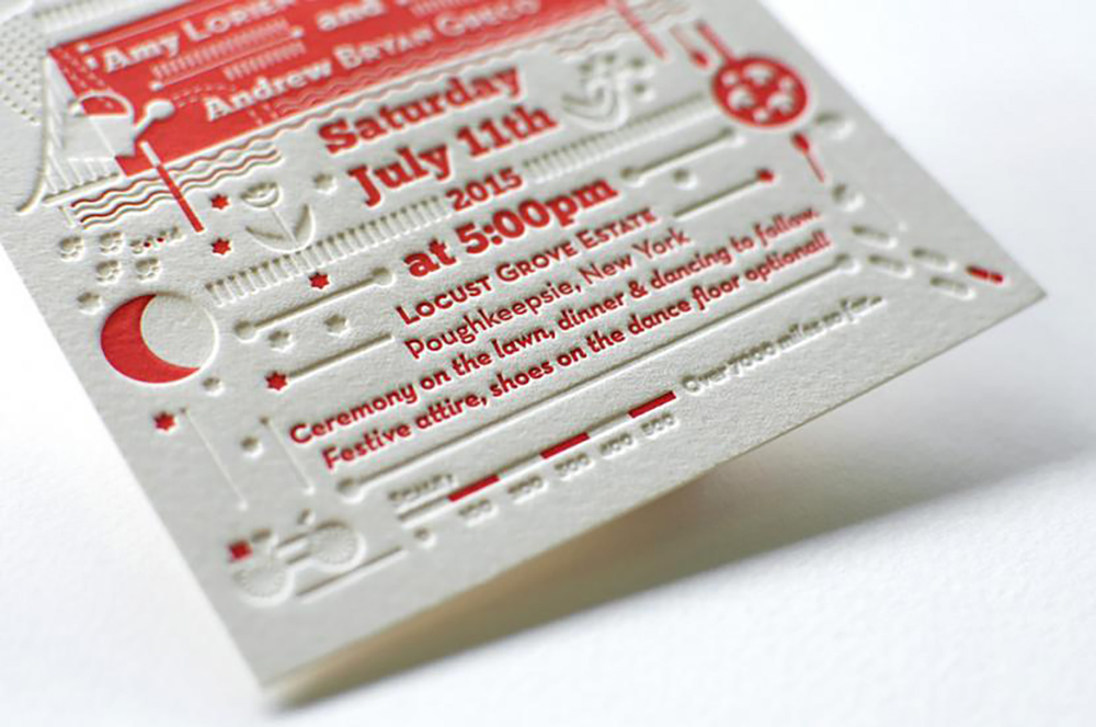 Letterpress Cards / Invites