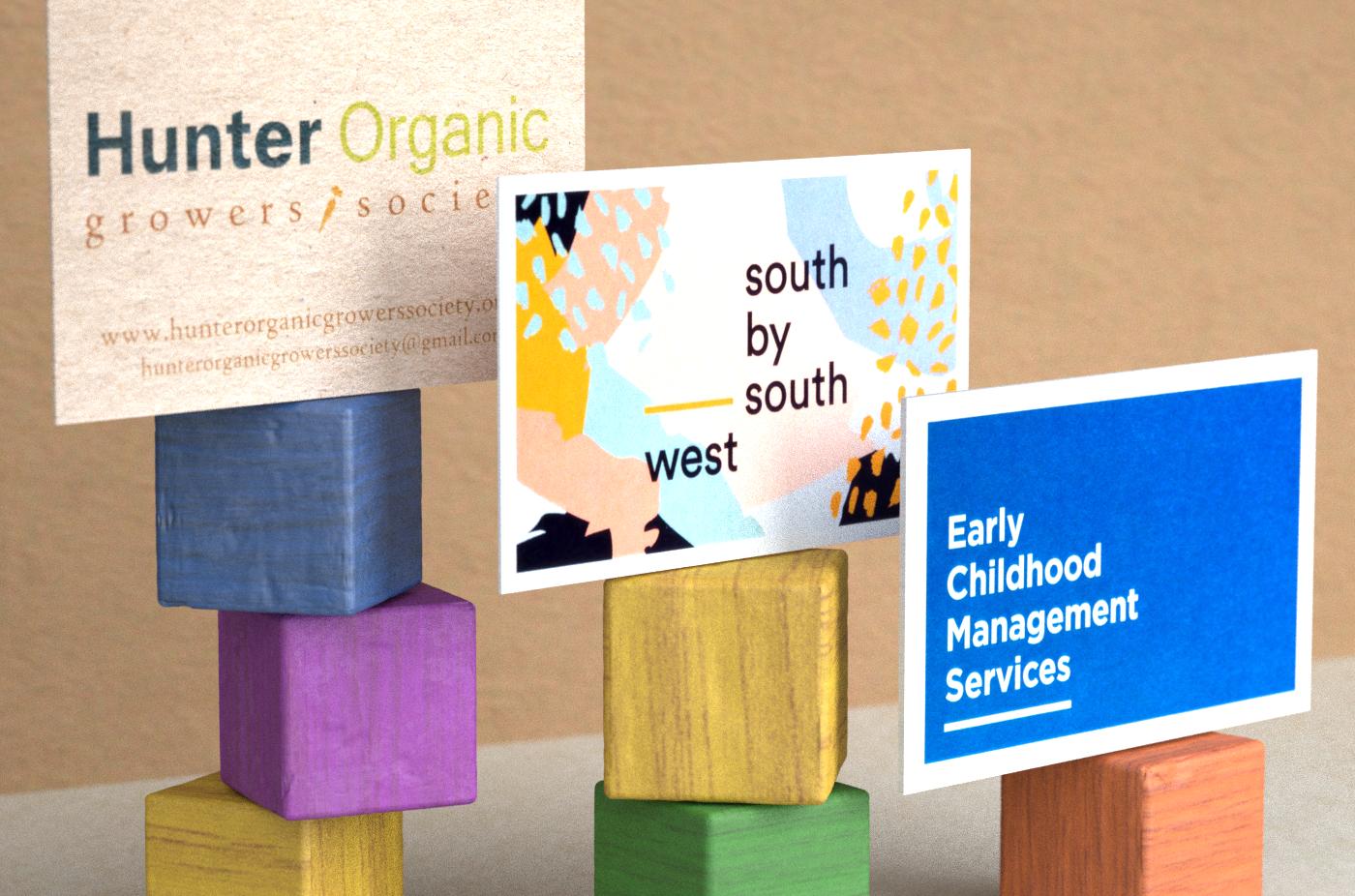 Printtogether digital silk business cards reheart Choice Image